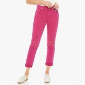 Joe's Jeans The Smith Hot Pink 23 NWT